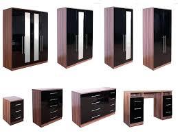 Black Gloss Bedroom Furniture Uk Modular Bedroom Furniture Parhouse Club