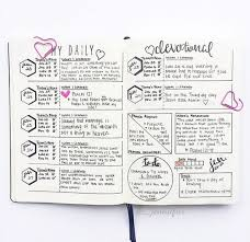 daily layout bullet journal 15 of the best weekly bullet journal layouts on the internet heart
