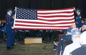 Flag Folding Ceremony William Blount High Honors Veterans News Thedailytimes Com