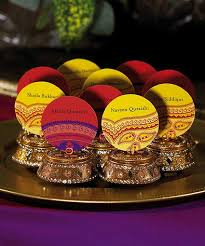 indian wedding favors guest name holders and that for families and that would be