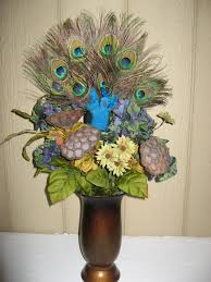 peacock centerpieces peacock table decorations image library