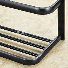 Black Bathroom Towel Bar Black Bathroom Copper Towel Bar Set Rack Towel Holder Hanger