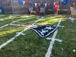 8 000th wish ryan feeney u0027s backyard football field new england