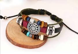 leather bracelet woven images 2017 vintage bohemia wind multilayer leather bracelet for men and jpg