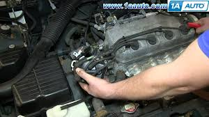 how to install replace engine ignition distributor 1996 98 honda