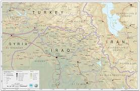 map of irak map of turkey and iraq major tourist attractions maps