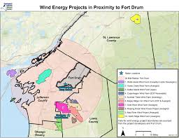 Jefferson County Tax Map Could Proposed Wind Farms Endanger Fort Drum Wrvo Public Media