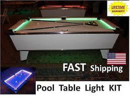 led pool table light led pool billiard table lighting kit light your jd custom pool