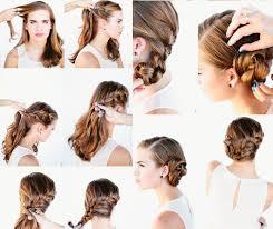 Hochsteckfrisuren Mittellange Haare Einfach by Silvester Frisuren Selber Machen 7 Einfache Anleitungen