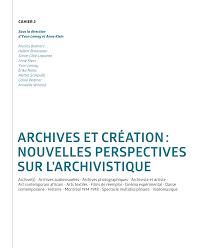 sans string au bureau t oignages le concept d archive s et les de pdf available