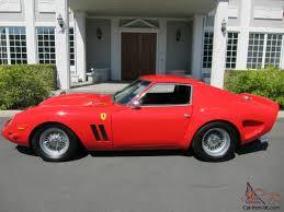 replica for sale uk 250 gto rosso corsa replica race car
