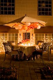 Patio Umbrella Table And Chairs by Light Up The Night Savor Summer Pinterest Lights Paper