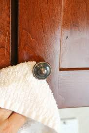 Cleaning Wood Kitchen Cabinets How To Clean Kitchen Cabinets So They Shine Self Cleaning Home