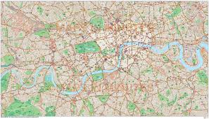 Map Scales London Large Base Map 10 000 Scale In Illustrator Cs Format