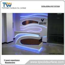 Fancy Reception Desk Fancy Design Corian Acrylic Solid Surface Office Front Reception