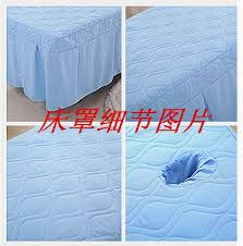 massage table with hole massage table skirt massage sheet with face hole in massage