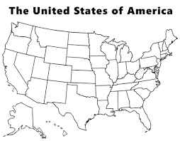 us map states by color united states blank map of color creatop me