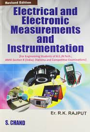 electrical and electronic measurements and instrumentation r k