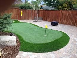 unique putting green backyard architecture nice