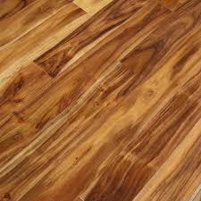 Light Walnut Laminate Flooring Acacia Natural Hand Scraped Sample Solid Hardwood Floor