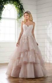 Princess Wedding Dresses Princess Wedding Dress With Lace U0026 Tulle Skirt Essense Of Australia
