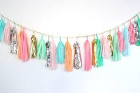 bridal garland tassel garland buy or diy bridal musings