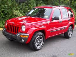 jeep liberty limited 2004 2004 flame red jeep liberty sport 4x4 columbia edition 54418682