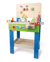 Gb 1500 Weight Bench Amazon Com Hape Master Workbench Kid U0027s Wooden Toolbench Pretend