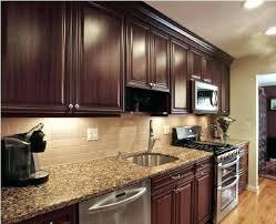 kitchen ideas with cherry cabinets kitchen backsplash cherry cabinets most interesting kitchen cherry