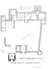 pencoed castle floor plan 1864 pencoed castle