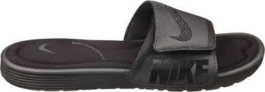 Nike Comfort Footbed Sneakers Nike Men U0027s Solarsoft Comfort Slides U0027s Sporting Goods