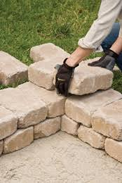 How To Build A Square Brick Fire Pit - build a stone firepit extreme how to