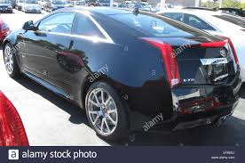 10 cadillac cts 2011 cadillac cts v coupe rear 10 22 2010 stock photo royalty