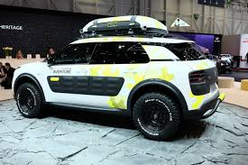 mitsubishi adventure engine c4 cactus and c4 cactus adventure liven up citroën u0027s geneva stand