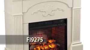 fi9275 sicilian harvest infrared electric fireplace ivory youtube