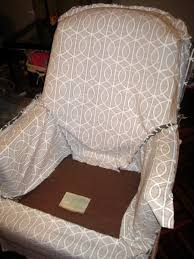 Patterned Slipcovers For Chairs Easy Slipcover Instructions
