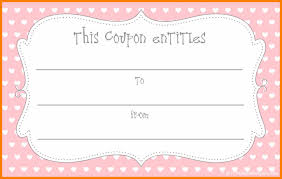 free voucher templates how to make a voucher free christmas