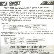 resume format for freshers engineers ecet welcome to gmrit