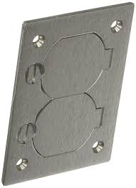 Hubbell Concrete Floor Boxes by Hubbell Wiring Systems Sa3825 Aluminum Round Floor Box Rectangle