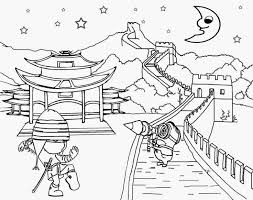 94 ideas great wall of china coloring page on gerardduchemann com