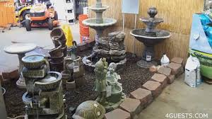 WATER FOUNTAINS GARDEN CENTER AT HOME DEPOT YouTube - Pond lights home depot