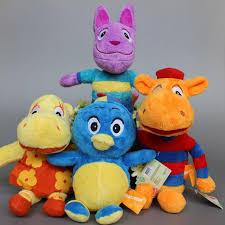 2017 backyardigans toys plush pablo tasha tyrone uniqua plush
