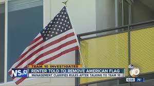 Usa Flag Rules College Student Told To Remove American Flag From Apartment
