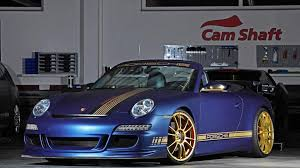 porsche modified porsche 911 997 carrera s cabriolet modified by cam shaft and pp