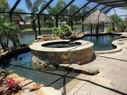 tropical palms villa luxury villa on canal award winning pool