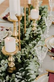 Home Wedding Decoration Ideas Color Of The Year 2017 Greenery Wedding Centerpiece Ideas