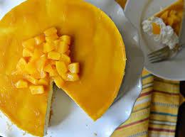no bake mango cheesecake recipe my latina table