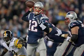 tom brady was at his finest against steelers the boston globe