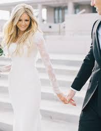 country western wedding dress vintage sheath natural waist simple