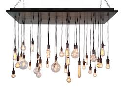 Chandelier Bulb Industrial Chandelier Rustic Lighting Modern Chandelier